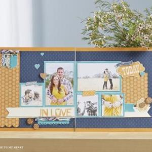 Sarita Scrapbooking Kit by Close to..