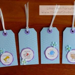 Creatures Tag Set (set of 4) by The..