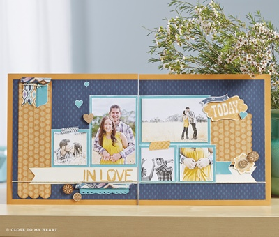 Sarita Scrapbooking Kit by Close to my Heart (CTMH)