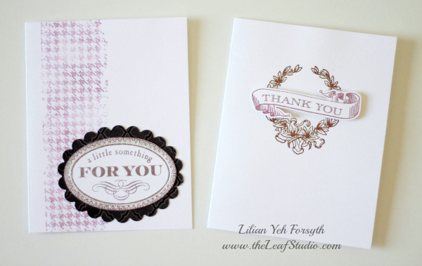 A little Something Card Making Kit by The Leaf Studio. FREE shipping.